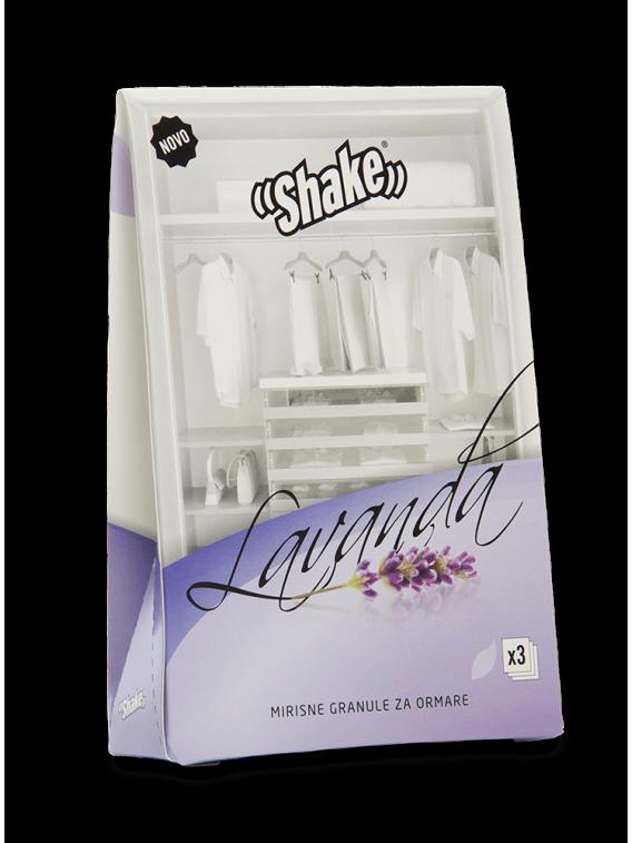 Shake osvežilec za omaro Lavender