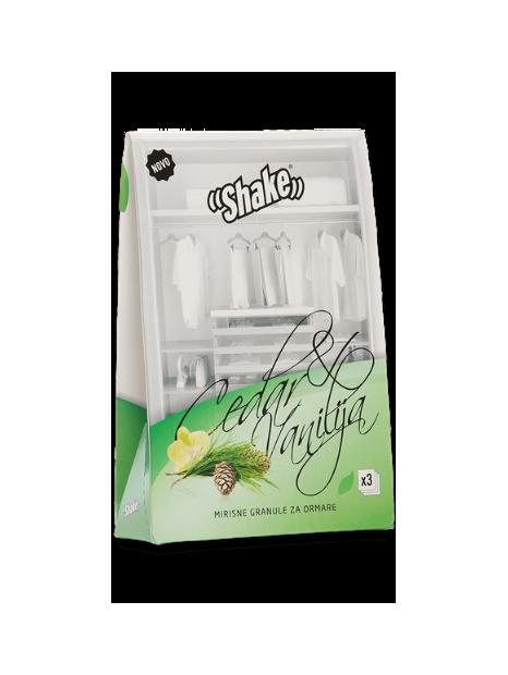 Shake osvežilec za omaro Cedar & Vanilla